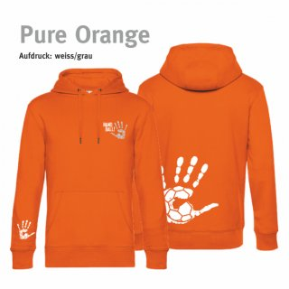 Hoodie Unisex Handball-Collection pure orange
