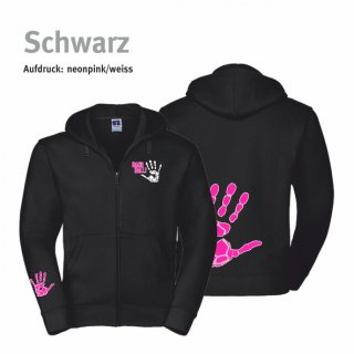 Hoodiejacke Handball-Collection Kids schwarz