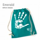 Turnbeutel Handball-Collection emerald