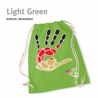 Turnbeutel Handball-Collection light green