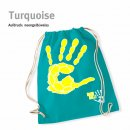 Turnbeutel Handball-Collection turquoise