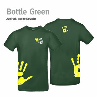 T-Shirt Unisex Handball-Collection bottle green