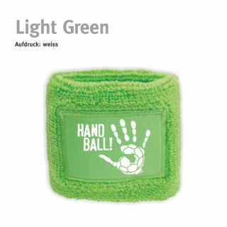 Schweißarmband Handball!-Collection light green
