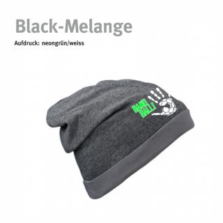 Beanie Handball-Collection black-melange