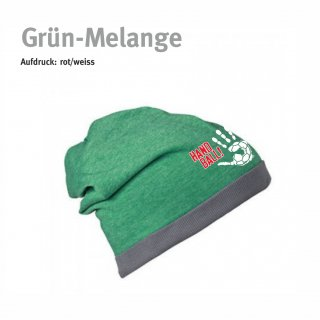 Beanie Handball-Collection green-melange