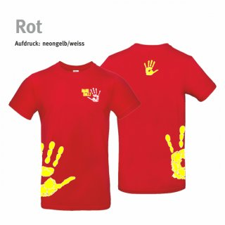 T-Shirt Kids Handball-Collection red