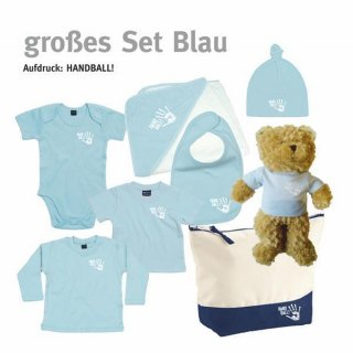 Baby-Set Handball-Collection groß dusty blue