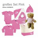 Baby-Set Handball-Collection groß gum pink