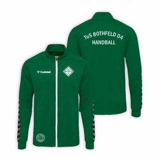 TuS Bothfeld 04 Unisex Hummel Auth. Charge Poly ZIP Jacket Evergreen