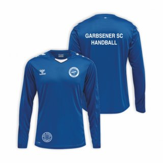 Garbsener SC Hummel Core LS Poly Jersey Kids true blue
